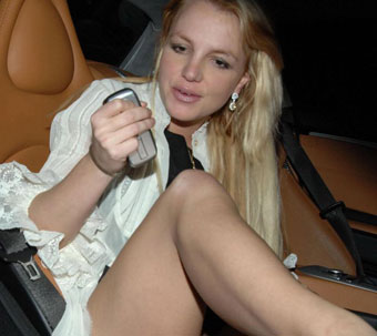 britney spears without underpants